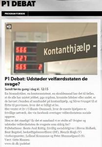 HovsaHolbæk i DR P1