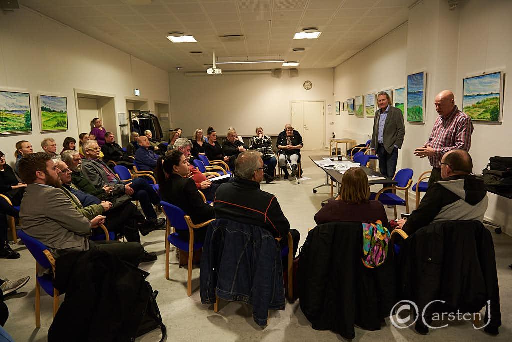 Hovsa Holbæk, dialogmøde, kritik